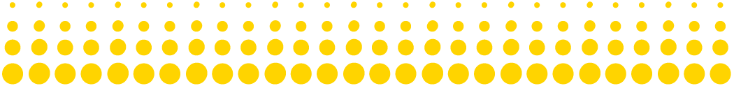 yellow dots decorative element